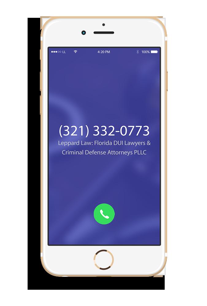 Brevard County Leppard Law Criminal Defense IPhone (2)
