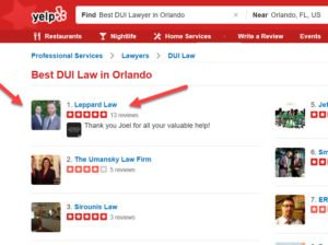Orlando DUI lawyer, Orlando DUI attorney