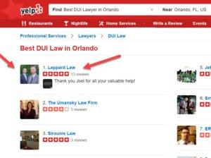 Best Orlando DUI attorney