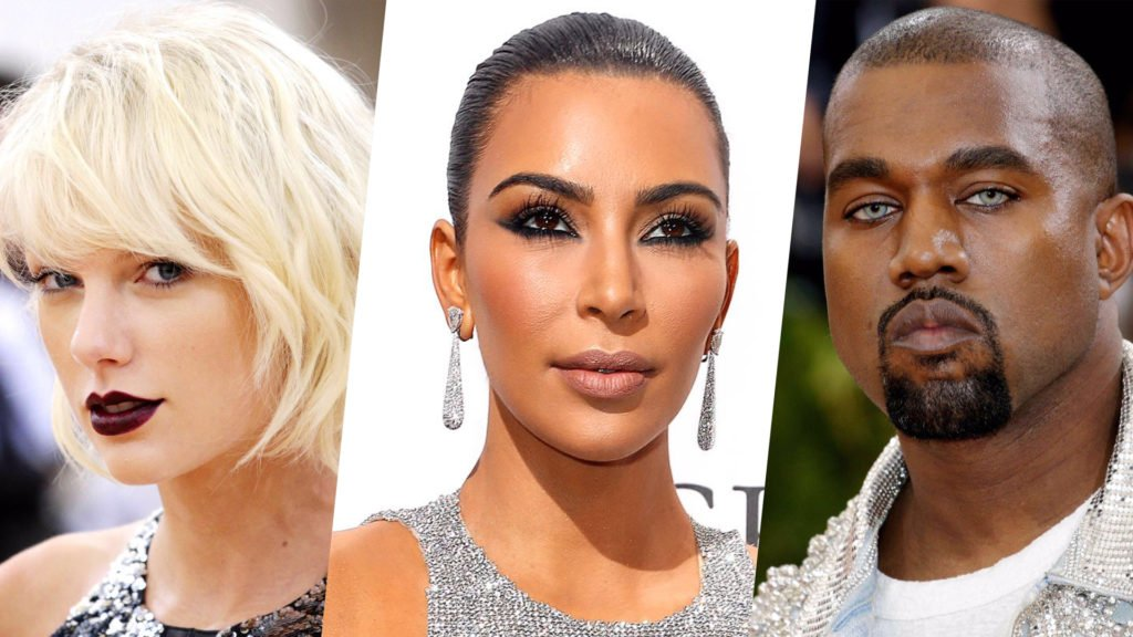 Kim Kardashian, Kanye West, Taylor Swift