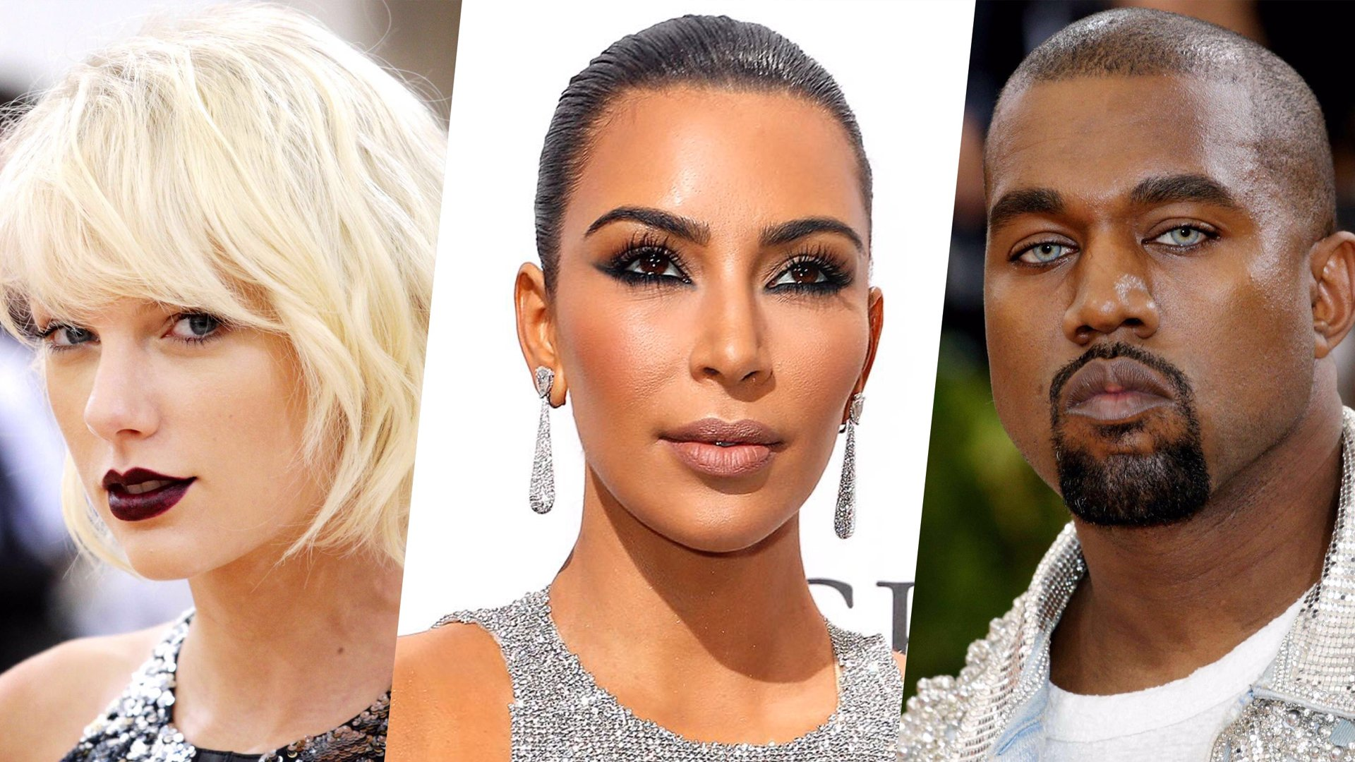 Kim Kardashian, Kanye West, Taylor Swift